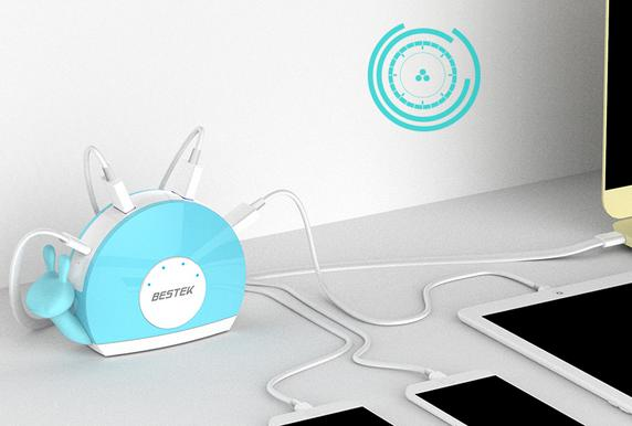 小身材大能量 百事泰4口USB充电器来啦