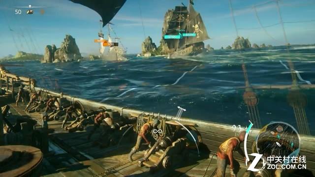 《骷髅与骸骨》 海战存在多种模式