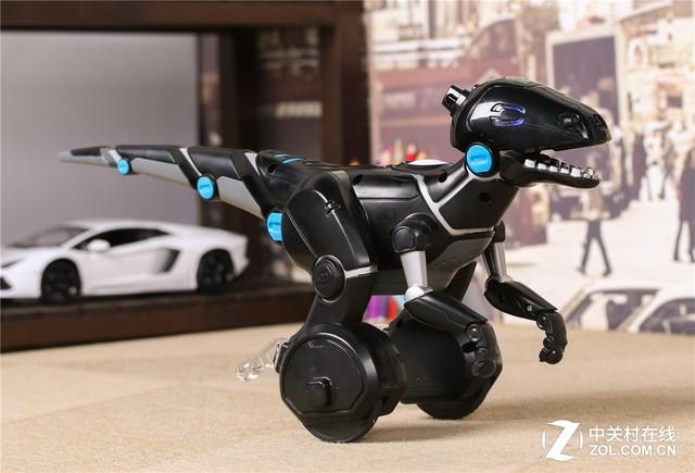 让孩子成为驯龙高手 智能恐龙机器人MiPosaur评测