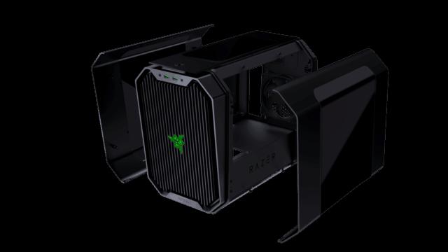 Antec Cube – Designed by Razer机箱亮相上海