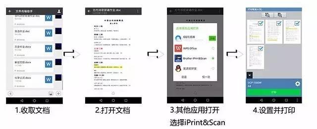 手机/平板里的文件打印 你会怎么做?