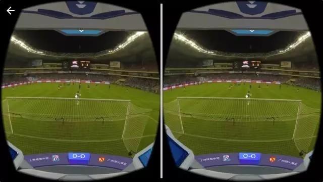 """""""上帝视角""""看国足 探的是VR内容的路"""