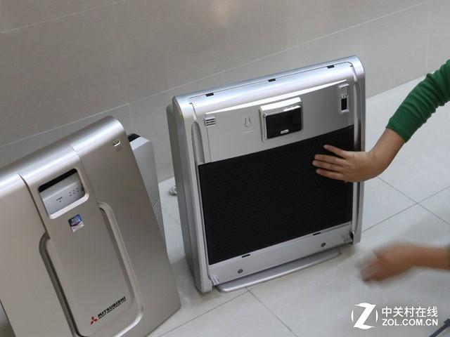 三菱重工空气净化器:净校园 献爱心