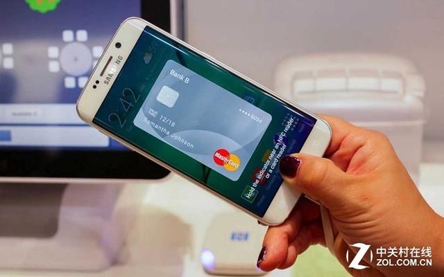 三星也搞支付 SamsungPay登录对手机型