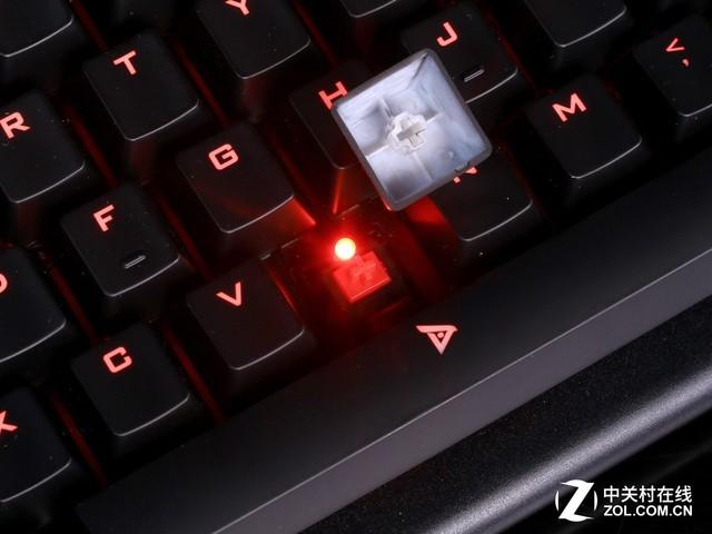 不一样的体验 钛度金属师红轴机械键盘