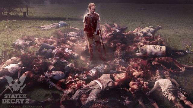 《腐烂国度2》公布最新血腥概念原画