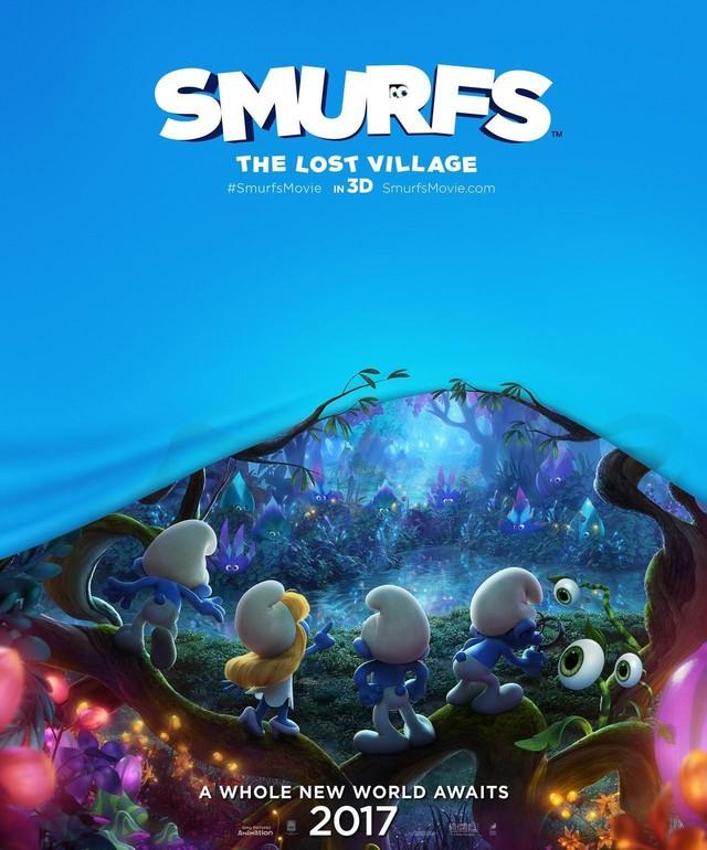 3DCG电影 《蓝精灵3》首款海报公开