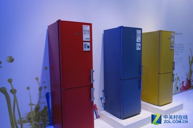 多彩冰箱抢先看 利勃海尔亮相IFA展会