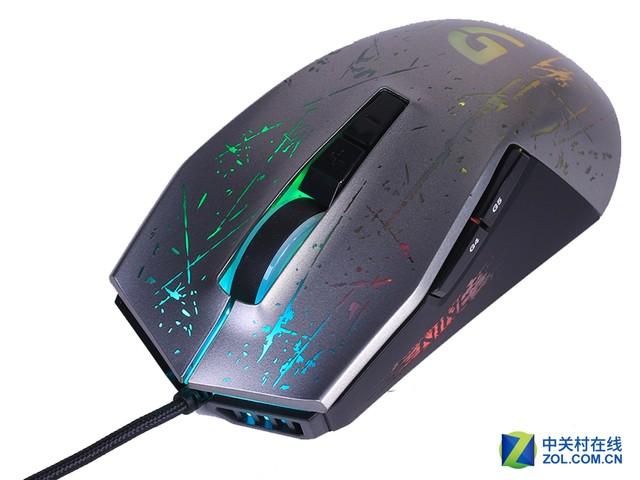 不一样的背光 富勒G91游戏鼠标评测