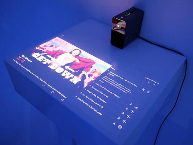 索尼Xperia Touch投影上手玩