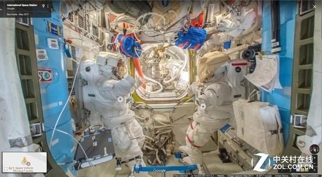 好消息!谷歌街景视图 首次接入国际空间站