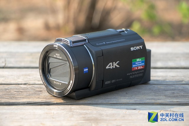 5轴防抖4K画质 索尼AX40摄像机评测