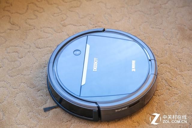 扫拖二合一清洁更给力 科沃斯DD3扫地机评测