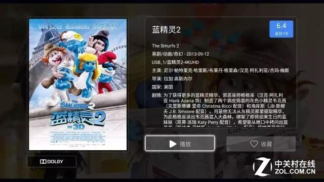 4K UHD《蓝精灵2》来了 海美迪完美演绎