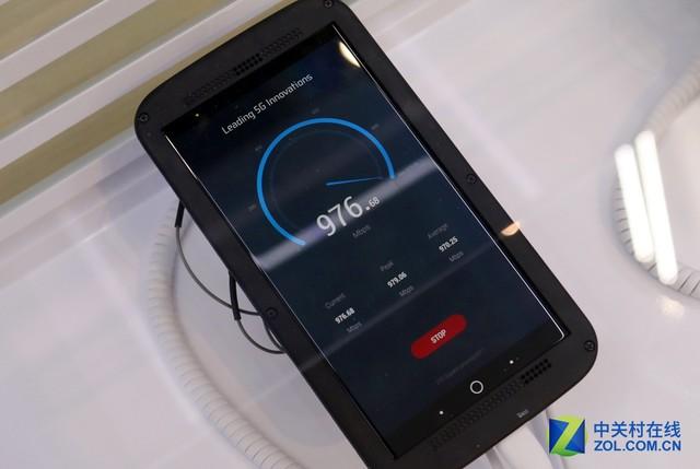 抢占5G新高地 中兴发布全球首款千兆手机
