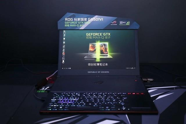 max-q设计笔记本亮相nvidia cj2017展台