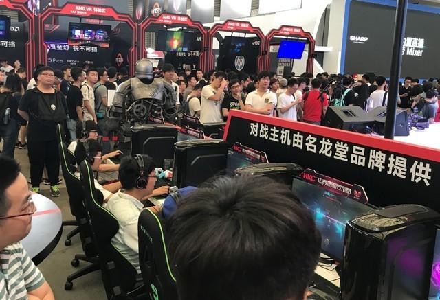 解读CJ 2017游戏对战区名龙堂主机配置