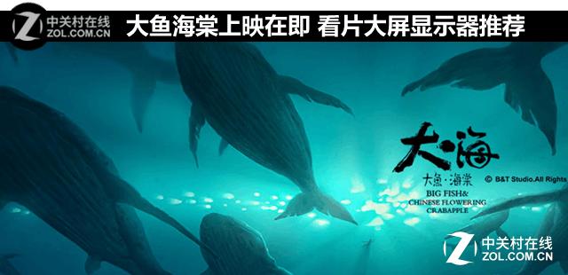 大鱼海棠上映在即 看片大屏显示器推荐