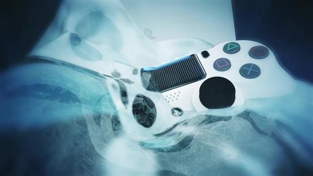 好看?索尼公布冰川白配色PS4 Slim主机