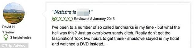 都是段子手 TripAdvisor上那些评论汇总