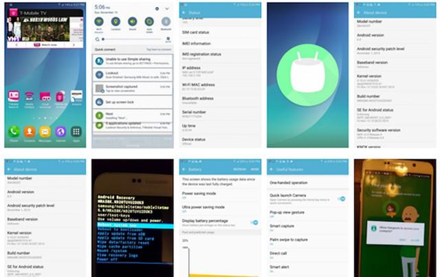 三星Note 5将升级Android 6.0截图曝光
