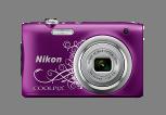 尼康发布一款时尚轻便型数码相机COOLPIX A100