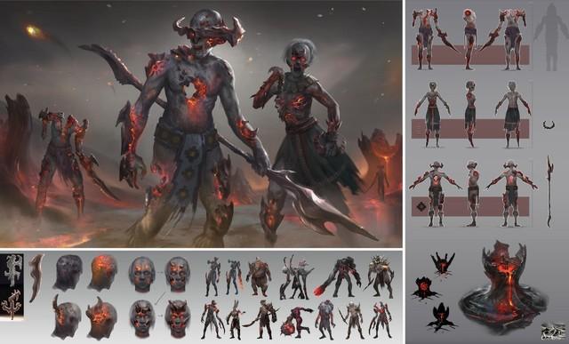 《战神》官方推荐学生设计的玛雅版奎爷