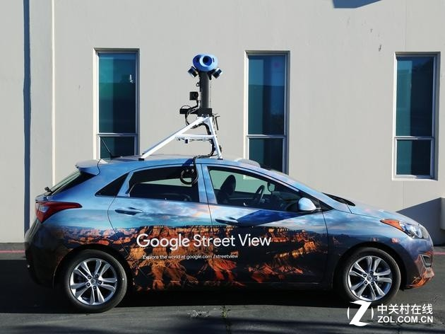 八年来,Google首次更新了街景摄像头