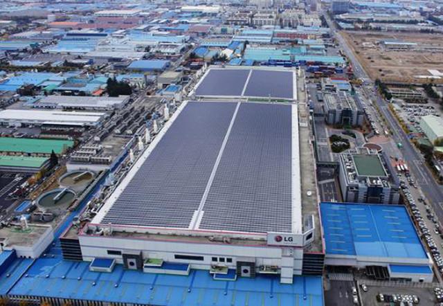 怒砸4.35亿美元!LG扩大太阳能面板产量