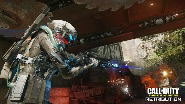 COD13无限战争新DLC预告 在外星打僵尸