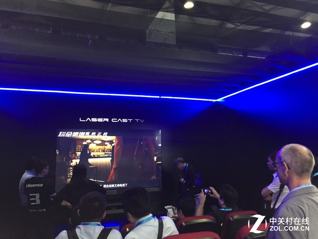 大秀黑科技 海信亚洲CES展台详细报道