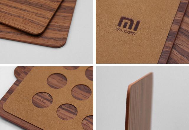 还原实木触感? 小米推超薄木纹鼠标垫