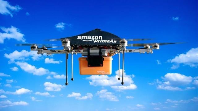 亚马逊无人机新专利:可从空中和你对话