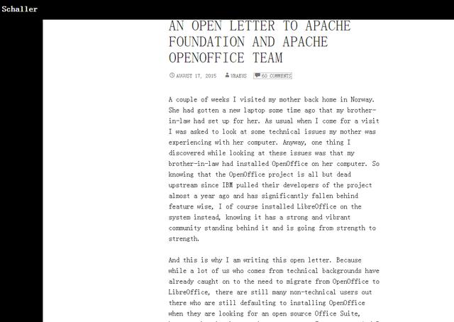 从OpenOffice已死,看免费软件真实价格