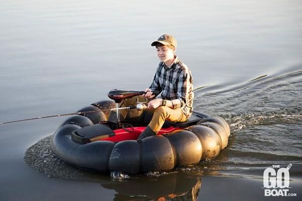 不在担心翻船了 GoBoat便携式充气船