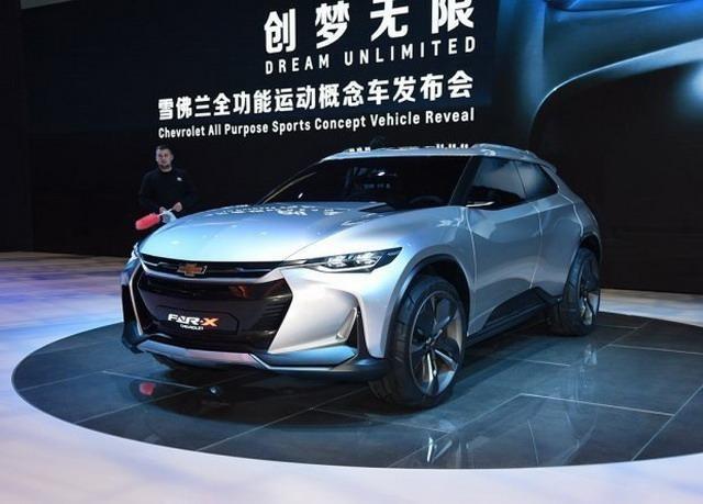 科幻元素感极强 雪佛兰FNR-X概念车发布