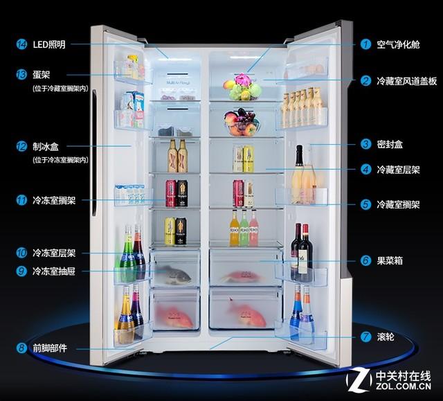 容声风冷冰箱缔造高端品质生活