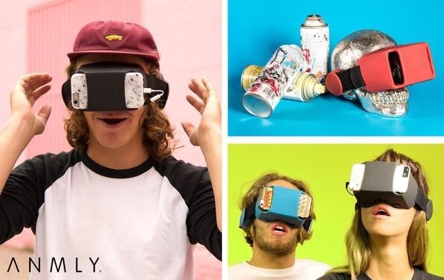 ANMLY推出新头戴设备 改善移动VR的音质