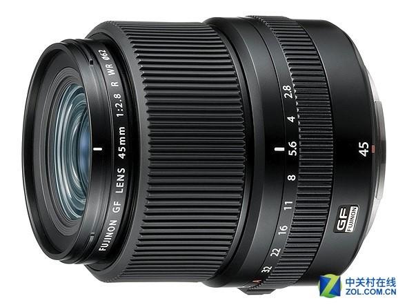 中画幅新镜 富士发布GF 45mm F2.8镜头