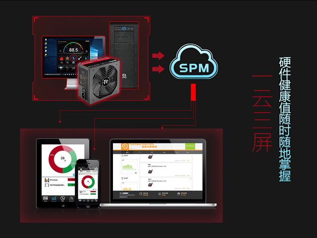 烧友的朋友圈 Tt SMART DPS G750智能金牌电源