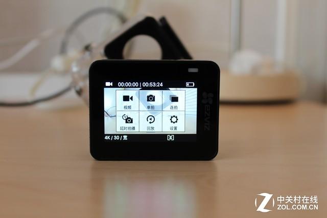 软硬件全面升级 萤石S5 Plus运动相机初体验