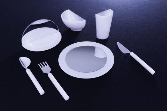 减肥救星 一个镜子就能让饭量减少一半