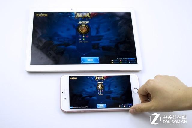 掌上游戏PK战 台电T10/手机开黑谁更强