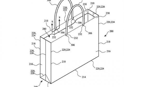 苹果新专利曝光 主角竟然是一个纸袋