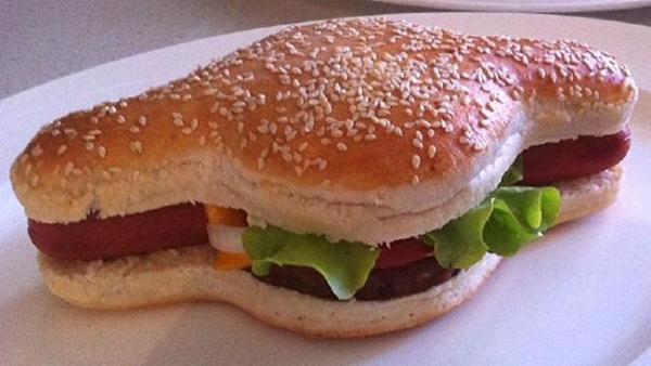 无奇不有 汉堡狗成功于美国申请专利