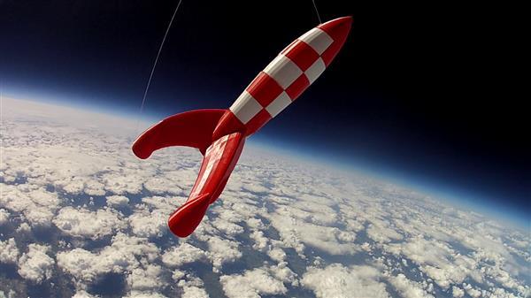 3D打印火箭发射到太空 成功航行4小时