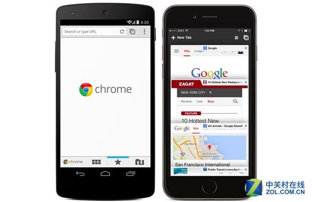 Chrome for Android / iOS月活跃用户数已破10亿
