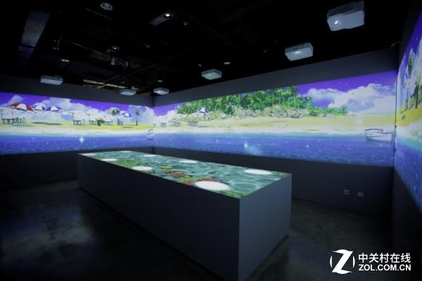 明基及商用大屏打造复合商务展示空间