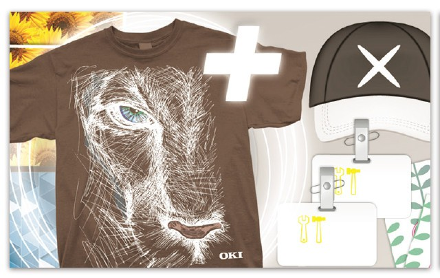 OKI C941dn满足原创个性T恤设计打印