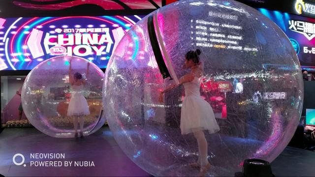 努比亚Z17拍照:左手抓拍右手Showgirl
